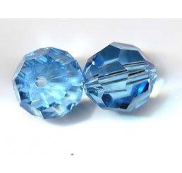 swarovski - perlina aquamarine mm. 10