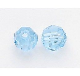 swarovski - aquamarine - mm. 5