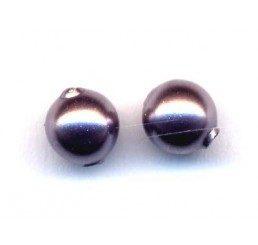 perla swarovski mm. 3 - mauve