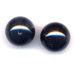 perla swarovski mm. 14 - mystic black