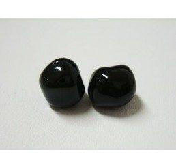 swarovski - perla irregolare mm. 8 mystic black