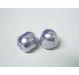 swarovski - perla irregolare mm. 8 prov. lavander