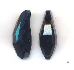 swarovski - aquiline bead mm. 28 - jet
