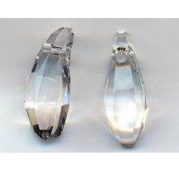 swarovski - aquiline bead mm. 18 - crystal