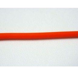 caucciù forato arancione mm 2,5