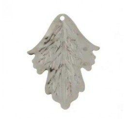 Pendente a forma di foglia in bronzo - conf 2 pz