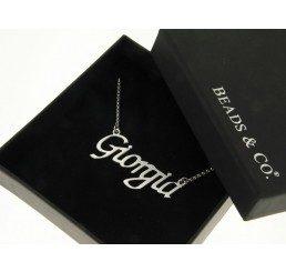 collana con nome - giorgia