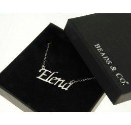 collana con nome - elena
