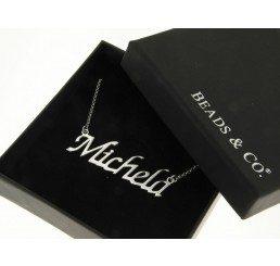 collana con nome - michela