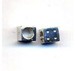 distanziatore per caucciù mm. 4 a forma di dado